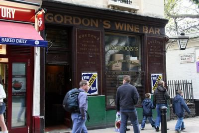 photograph picture of Gordon's Wine Bar London