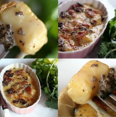 photograph picture how to make recipe for french-style gnocchi using pate choux instead of potato