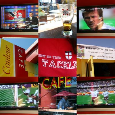 photograph picture couleur cafe san francisco world cup football 2006
