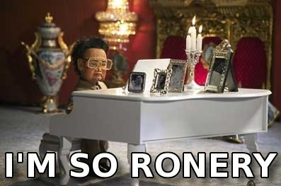 Poor ronery rich boy Kim Jong-Il