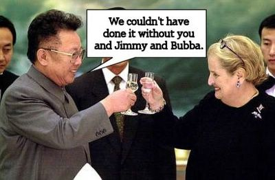 Great Leader Comrade Kim Jong Il thanks his friends