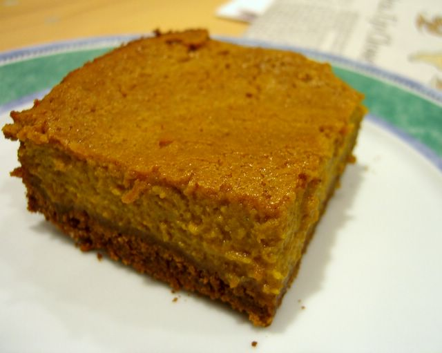 Pumpkin Pie Squared Baking Bites