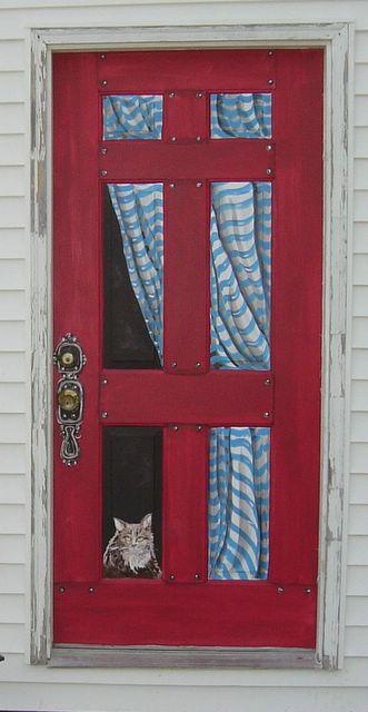 Past Decorative Painting: Painted Door