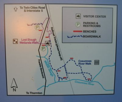 Consumes River Preserve Map