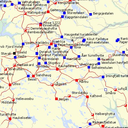 kart turistforeningen Brainless Expeditions: mai 2006 kart turistforeningen