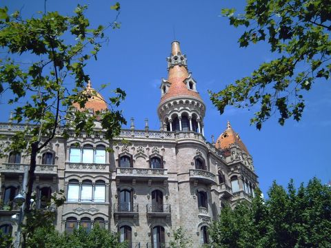 Catalan Modernisme: Casa Rocamora in Passeig de Gracia