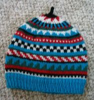 Childs Patterned Hat