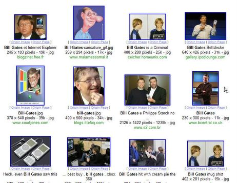 Bill Gates on Google Images