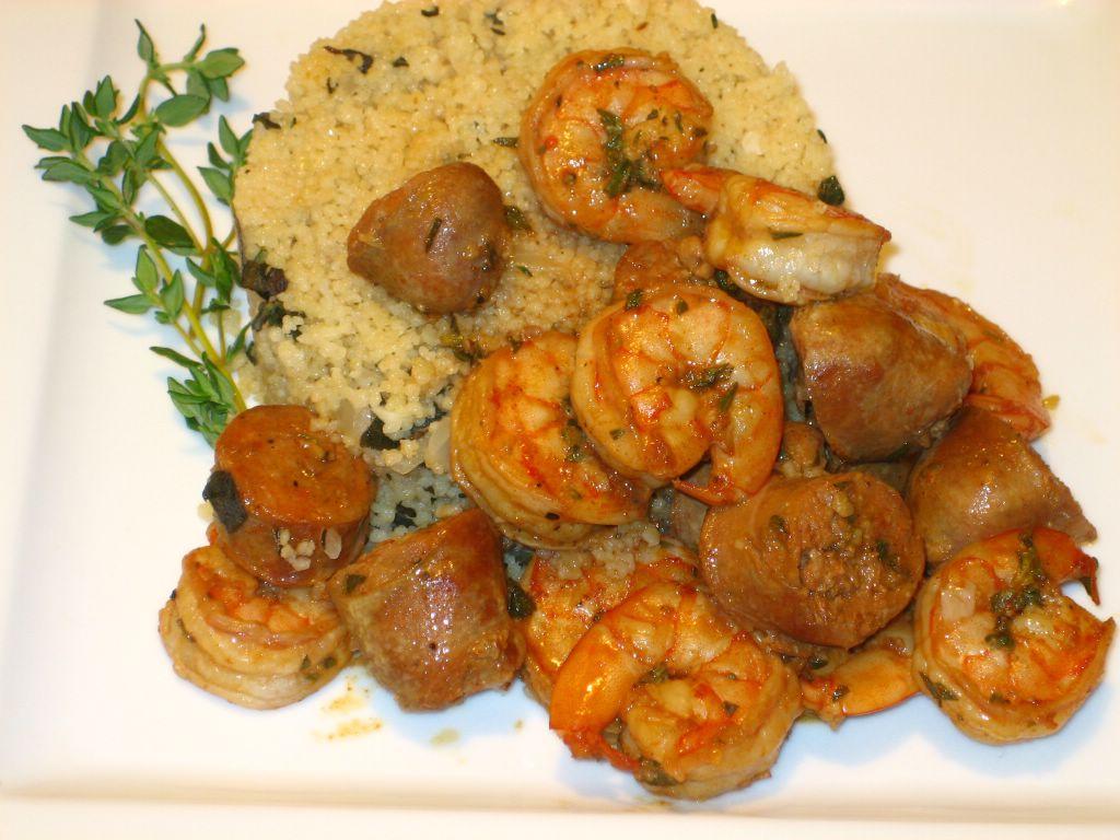 Rice Cake Humus Chorizo