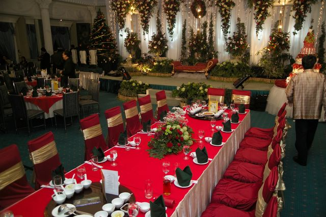 The Reception Hall Caesar Ballroom Garden Palace Hotel