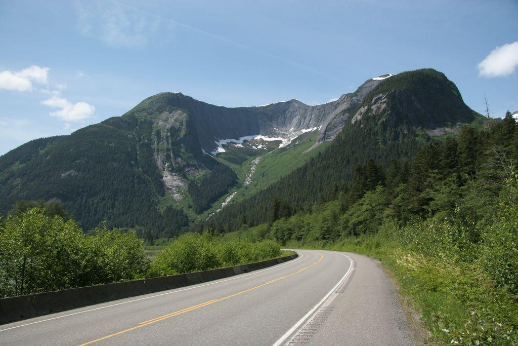 Skeena River landscape British Columbia
