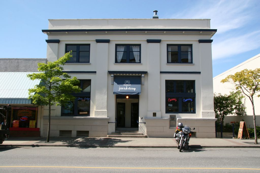 Javadotcup internet cafe, Prince Rupert, British Columbia