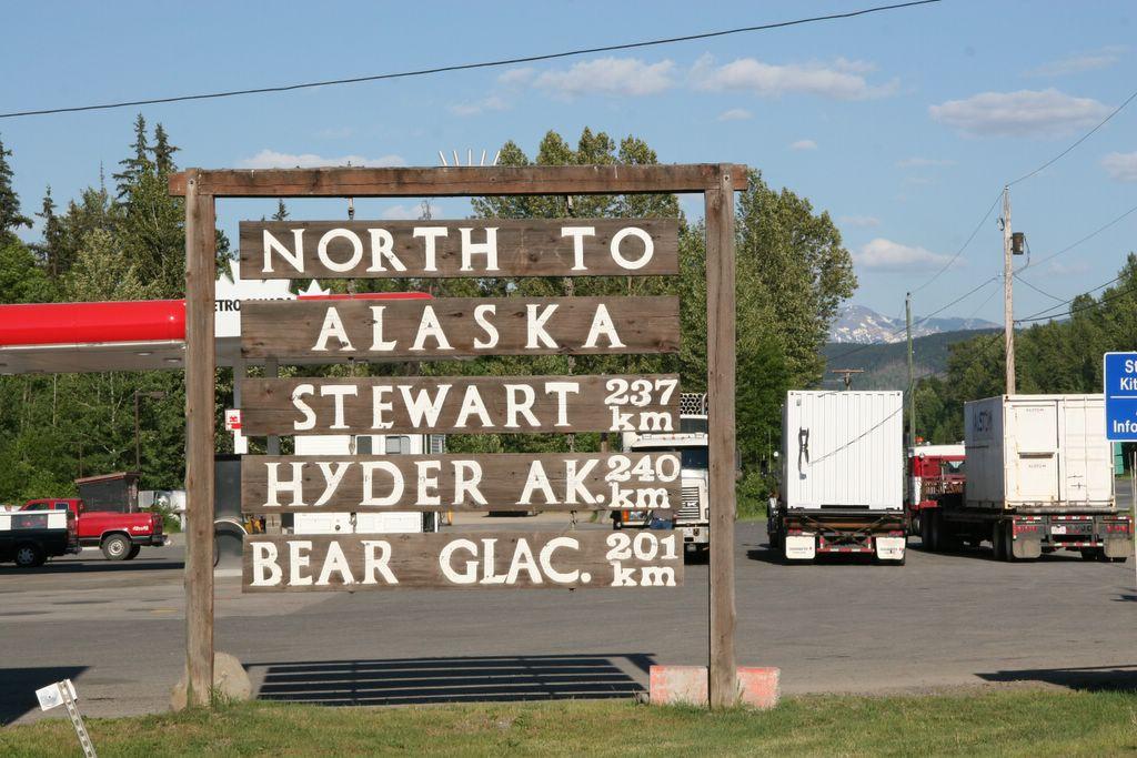 Cassiar Highway gateway, Kitwanga, British Columbia