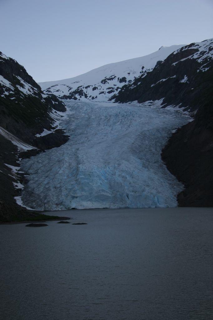 Bear Glacier on The Glacier Highway, British Columbia