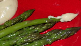 A last-minute dip for asparagus or other vegetables