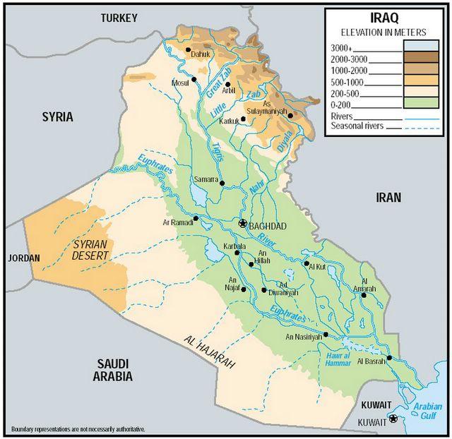 Iraq War Maps