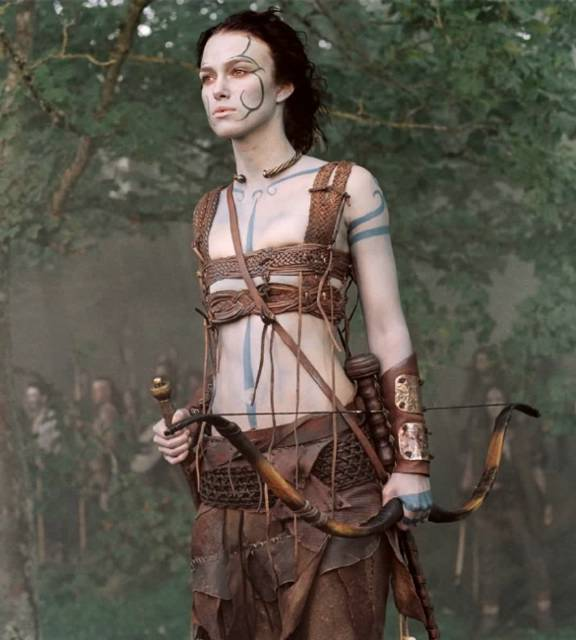 Warriors Into The Wild Setting: Random Thoughts: Keira Knightley's Battle Armour