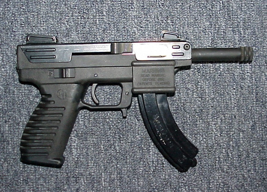 Mr  Completely: Intratec TEC-22 Rim Fire Race Gun