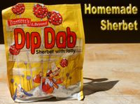 photograph picture of a Bassets sherbet dip dab