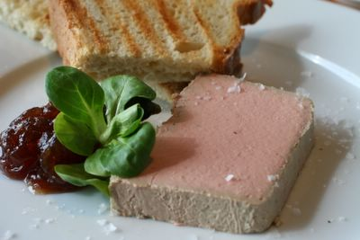 photograph of the chicken pate at Riverstation restaurant and bar in Bristol, England