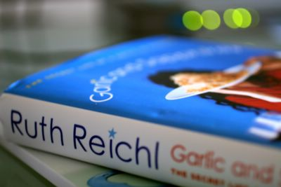 photograph picture for book review of Ruth Reichl's Garlic and Sapphires