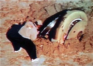 Genesis Spacecraft crash