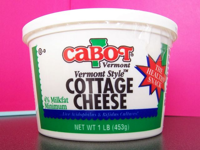 Cottage cheese proteine