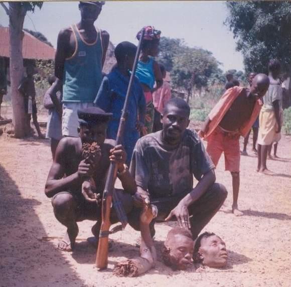 Kannibalismus Afrika