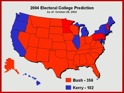 Musings of a Merry Mad Monk: Electoral College Prediction