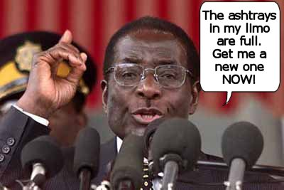 Bobby Mugabe already has a shopping list