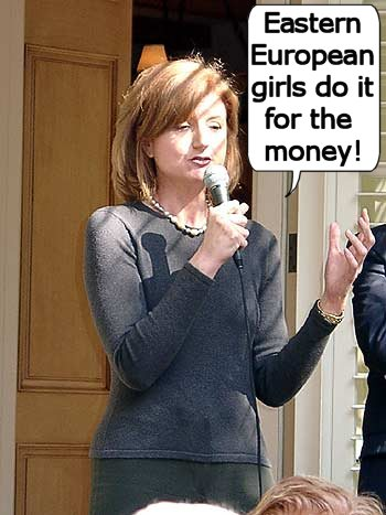 Arianna Huffington describes her operative philosophy
