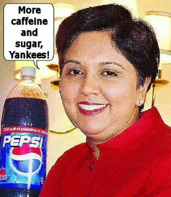 Indra Nooyi stupid fat cow