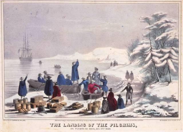 Image result for pilgrims art