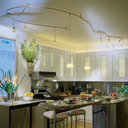 Kitchen Lighting Track Pendant