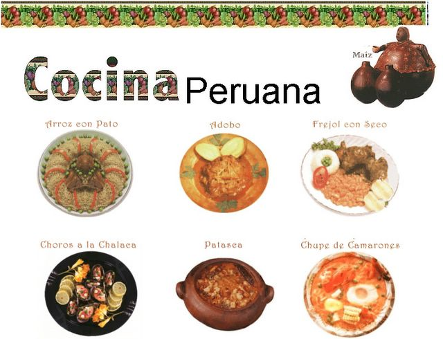 Funky Collections La Deliciosa Comida Peruana