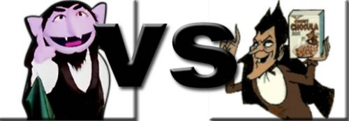 The Versus Page Count Chocula Vs Count Von Count From