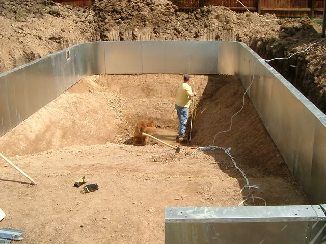 Build Your Own Swimming Pool Project