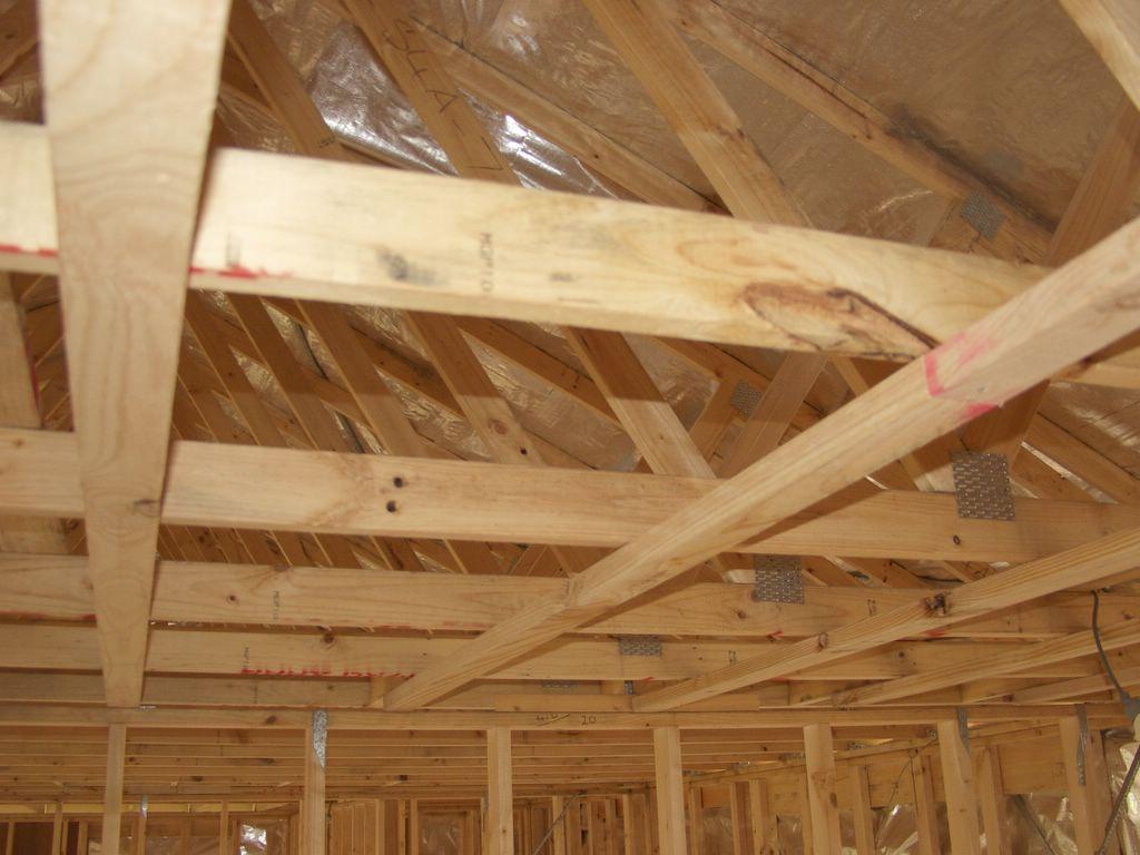 steve and julie's victorian home: ceiling battens