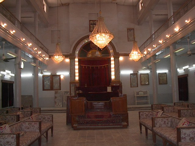 Synagogue in Bataween, Baghdad, Iraq