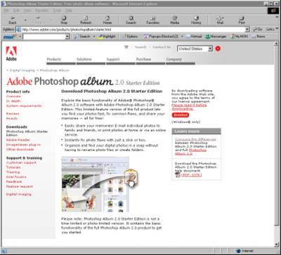 Download adobe photoshop album starter edition 3. 2.