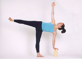 daily yoga tip practice 'cause it's precarious