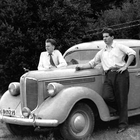 Nastan lika glatt som 1955