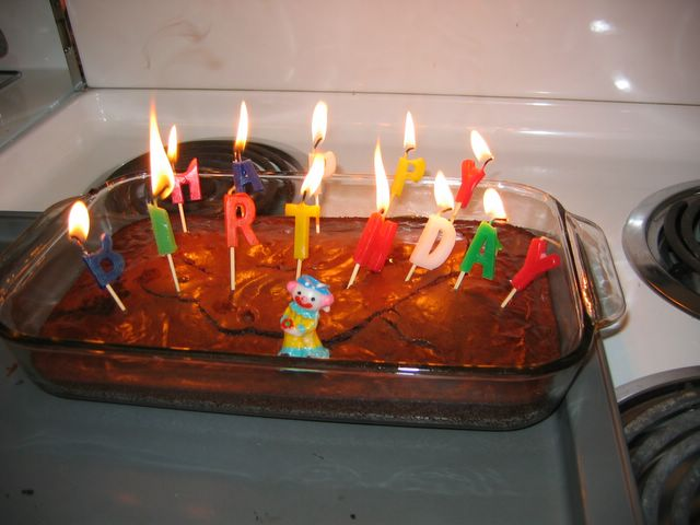 Mike Jutans World Birthday Cake Candles From Kristen