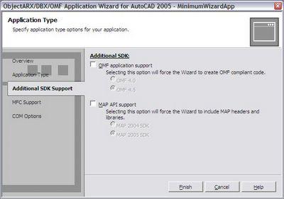 ObjectARX & Dummies: Class 3b - Minimum application using