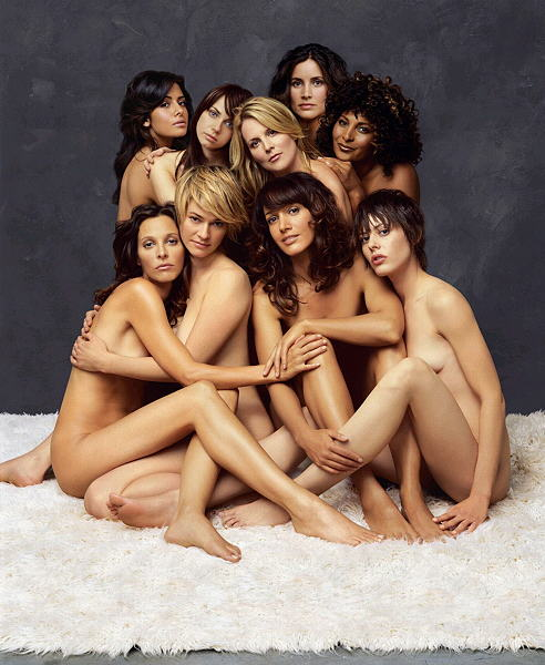 Bunch of naked women