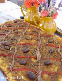 Pissaladiere from Tabou