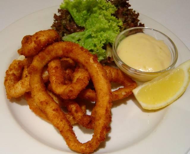 Grilled Calamari Rings Calories