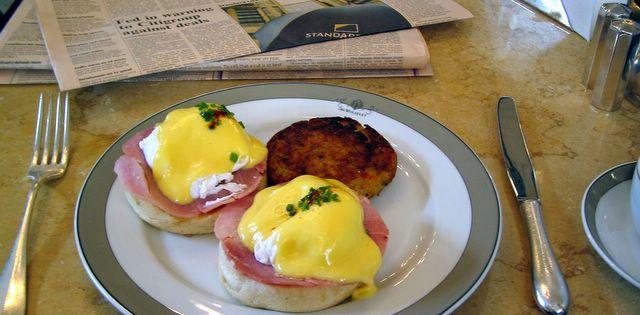 the breakfast blog: The Wolseley, London
