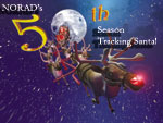 NORAD uses four high-tech systems to track Santa - radar, satellites, Santa Cams and jet fighter aircraft.