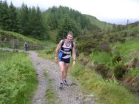Allan Douglas of Strathaven finished 4th